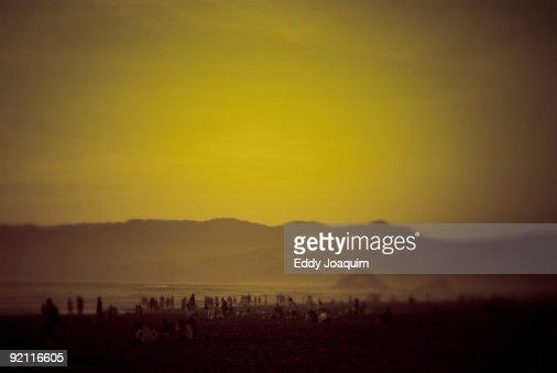 Beach on the Pacific coast