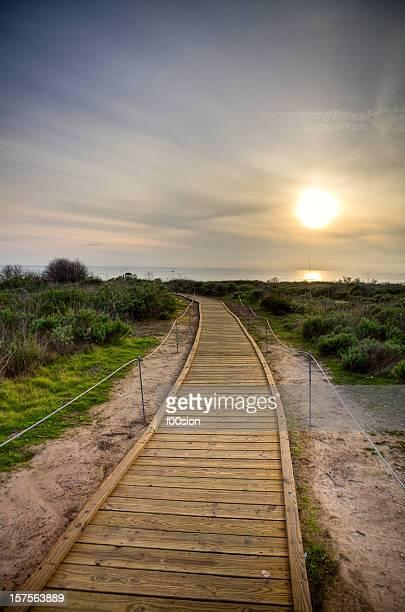 Beach Path HDR