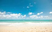 Secluded tropical beach - Koh Samui, Thailand.