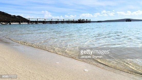 La spiaggia : Foto stock