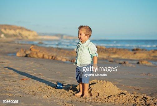 Beach play : Foto de stock