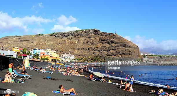 Beach: Playa Puerto de Tazacorte, La Palma