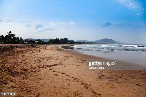 Beach, Rishikonda Beach, Visakhapatnam, Andhra Pradesh, India
