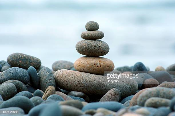Beach Rocks, Stacked