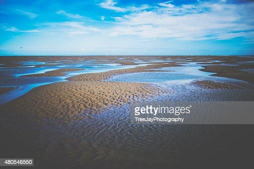Praia SandBank : Foto de stock