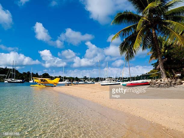 Strand-Szene in Vanuatu