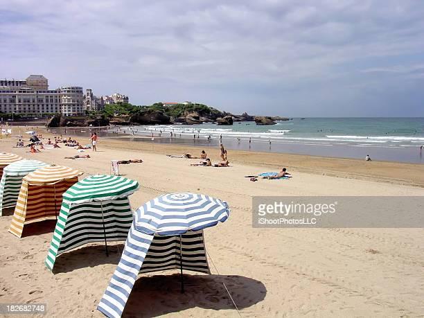 Scène de plage France