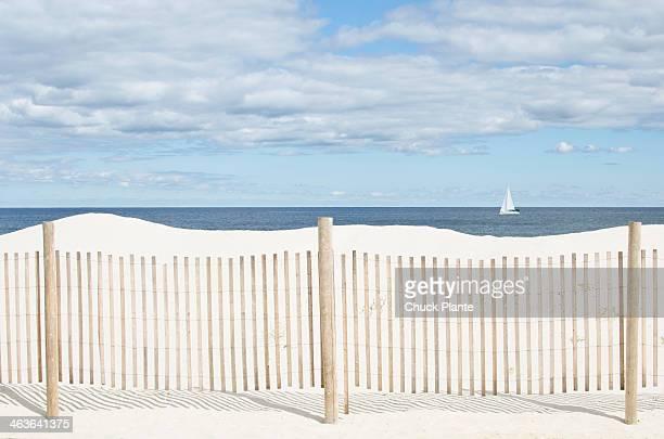 Beach scene, Lavalette