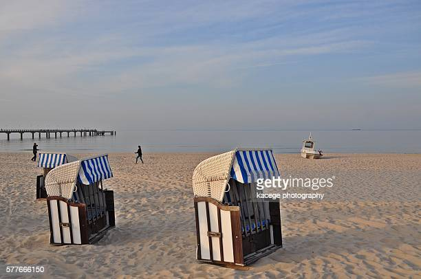 Beach scene, Usedom, Baltic Sea