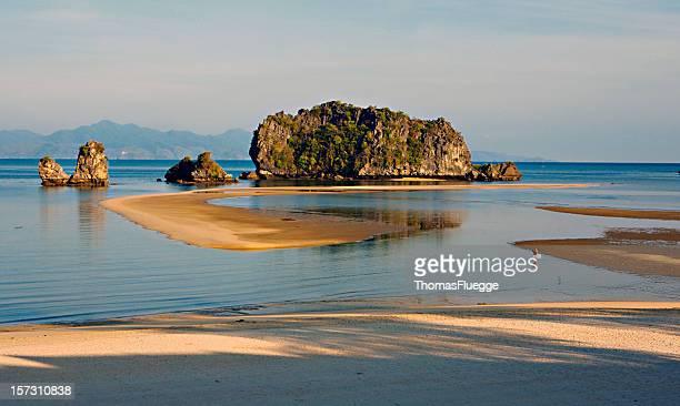 Beach scenery at Langkawi