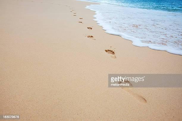 La plage pittoresque