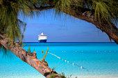 Beach, Seas and Ship