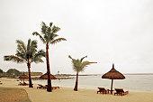 Beach, Shanti Maurice Hotel, Souillac