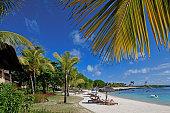 Beach, Shanti Maurice Hotel, Souillac,