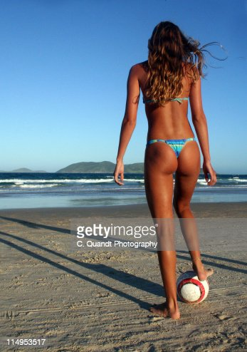 Beach soccer : Stock Photo