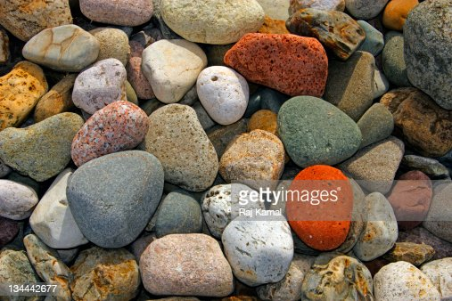 Beach Stones : Stock Photo