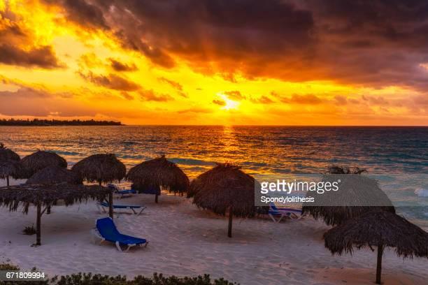 Beach sunrise at Cayo Largo, Cuba