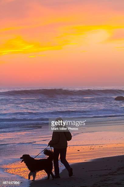 Beach Sunset, California, USA