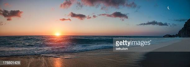 Beach Sunset - panorama