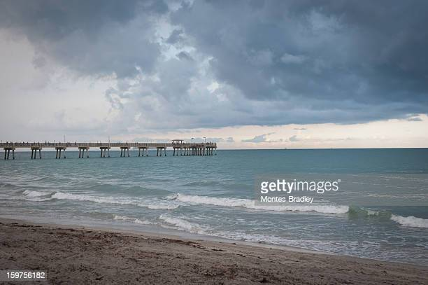 Beach, surf and pier