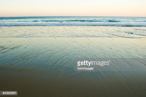 Beach, surf, daybreak