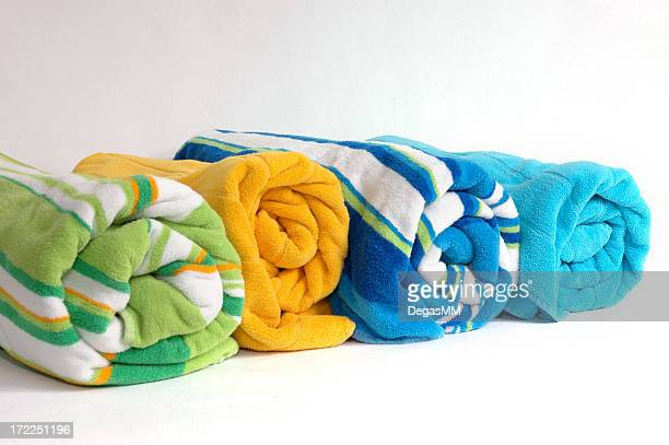 Beach Towel Rolls