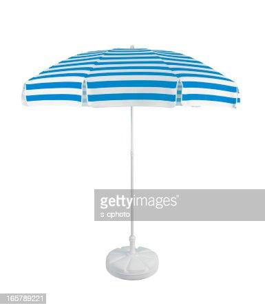 Beach Umbrella +Clipping Path (Click for more)
