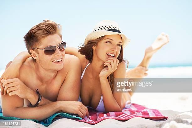 Vacanze in spiaggia sono la migliore!