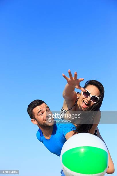 Voleibol playero acción