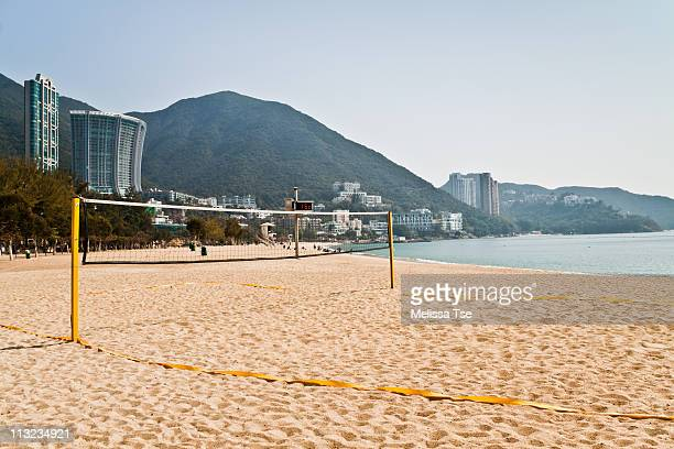 Beach Volleyball Court in Repulse Bay, Hong Kong