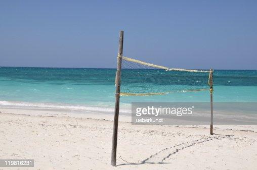 beach volleyball : Stock Photo