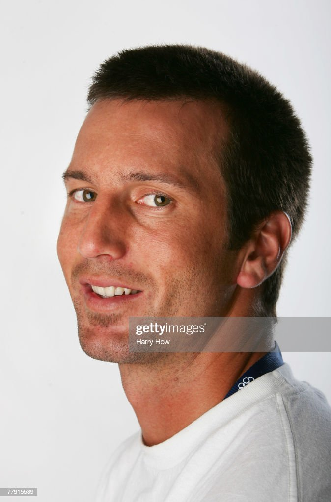 Beach Volleyball player Sean Rosenthal poses for a portrait during the Athlete Summit at Smashbox Studios on November 14, 2007 in West Hollywood, California.