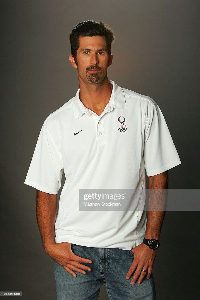 Beach volleyball player Todd Rogers poses for a portrait during the 2008 U.S. Olympic Team Media Summitt at the Palmer House Hilton on April 14, 2008 in Chicago, Illinois.
