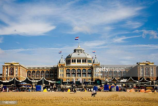 Beach with kurhaus