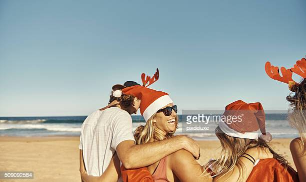 Beach+Friends= The perfect christmas