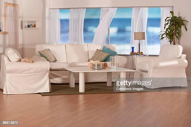 beachhouse living room