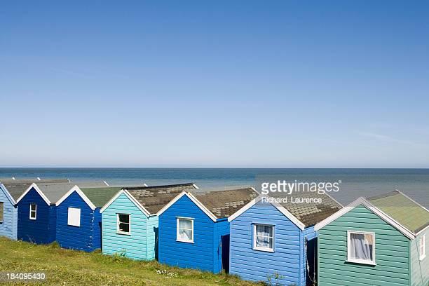 Beachhuts à Southwold.
