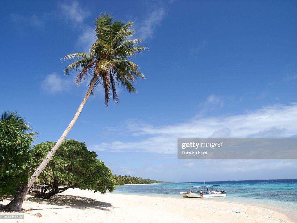 Beachside in Marshall Islands