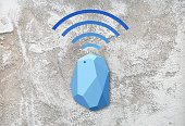 Design beacon device home and office radar. Use for all situations