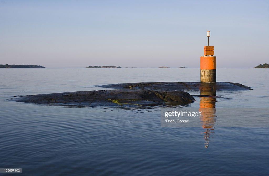 Beacon on water