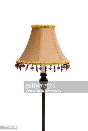 Beaded Lampshade