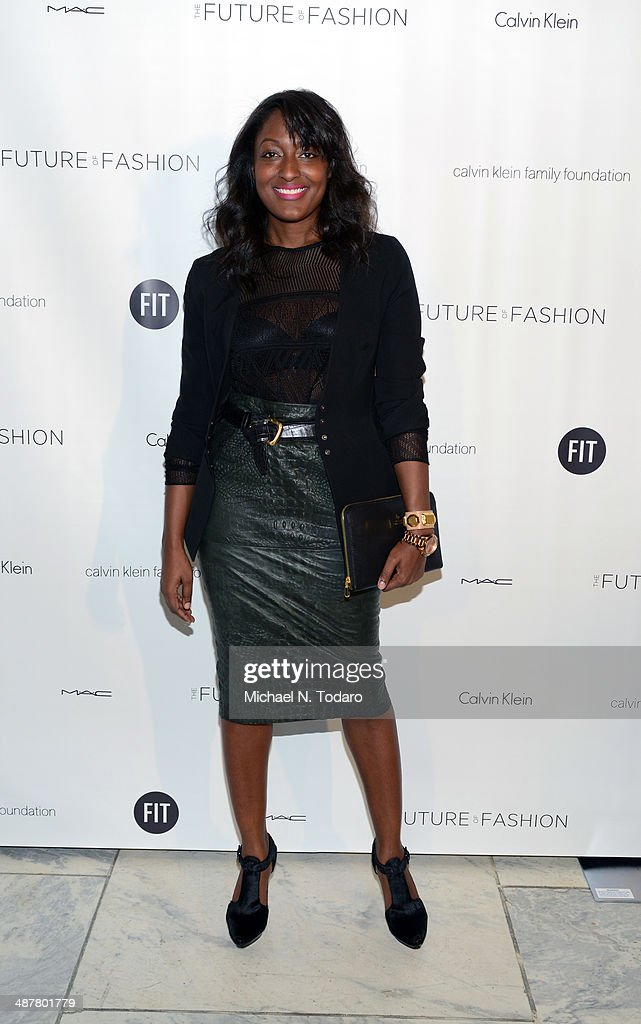 Beagy Zielinski attends the 2014 Future Of Fashion Runway Show at The Fashion Institute of Technology on May 1, 2014 in New York City.