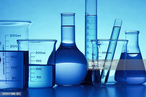Beakers and test tube