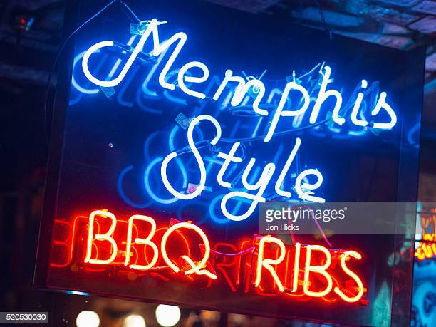 Beale Street Historic District, Memphis, Tennessee.