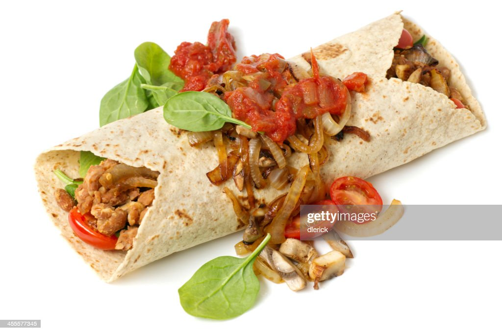 bean burrito : Stock Photo