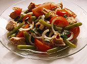 Bean Salad with Tomatoes and Tuna