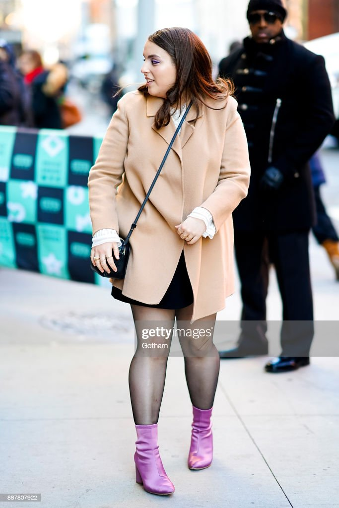 Celebrity Sightings in New York City - December 7, 2017