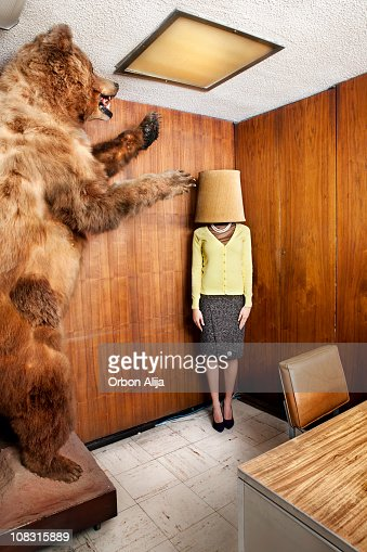 Bear at the office