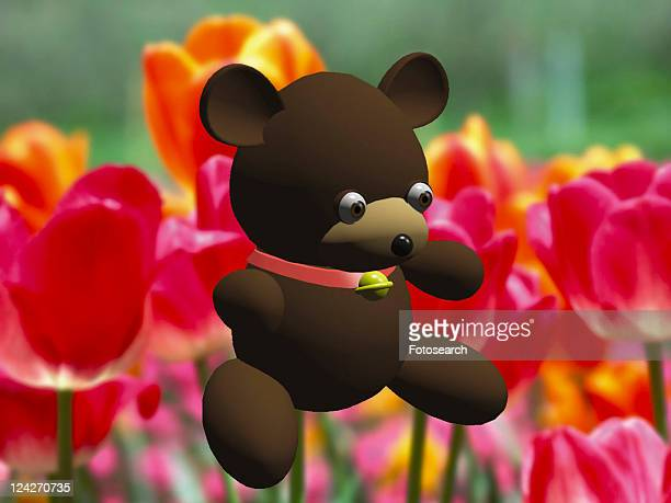 3D, bear, cartoon, cute, animal