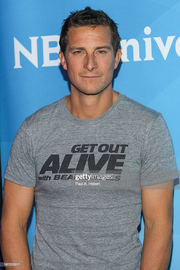 Bear Grylls attends the 2013 NBCUniversal Summer Press Day held at The Langham Huntington Hotel and Spa on April 22, 2013 in Pasadena, California.